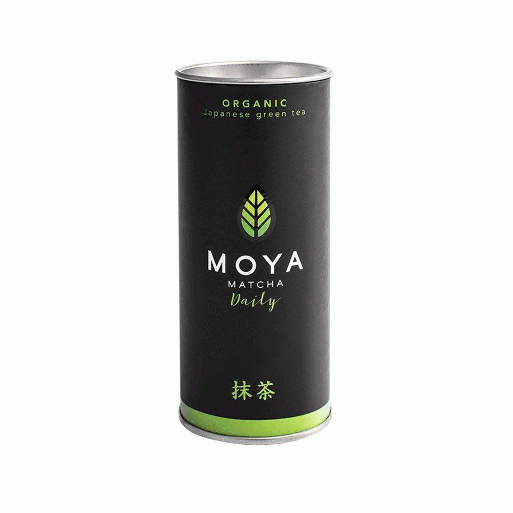MOYA MATCHA ORGANIC JAPANESE GREEN TEA DAILY