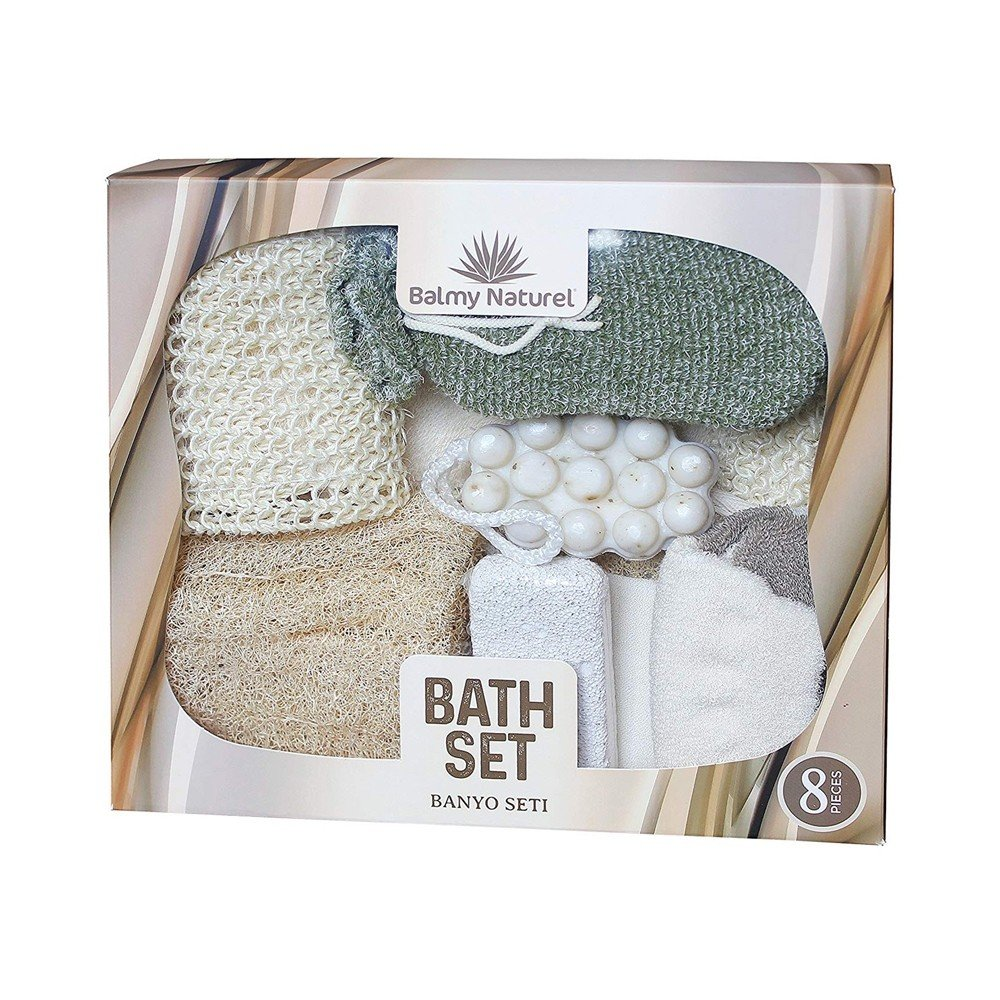 BALMY NATUREL BATH SET WITH SAVANA MASSAGE SOAP