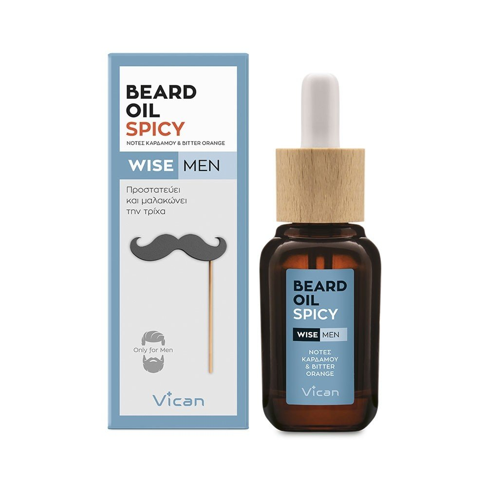 VICAN WISE MEN - BEARD OIL SPICY
