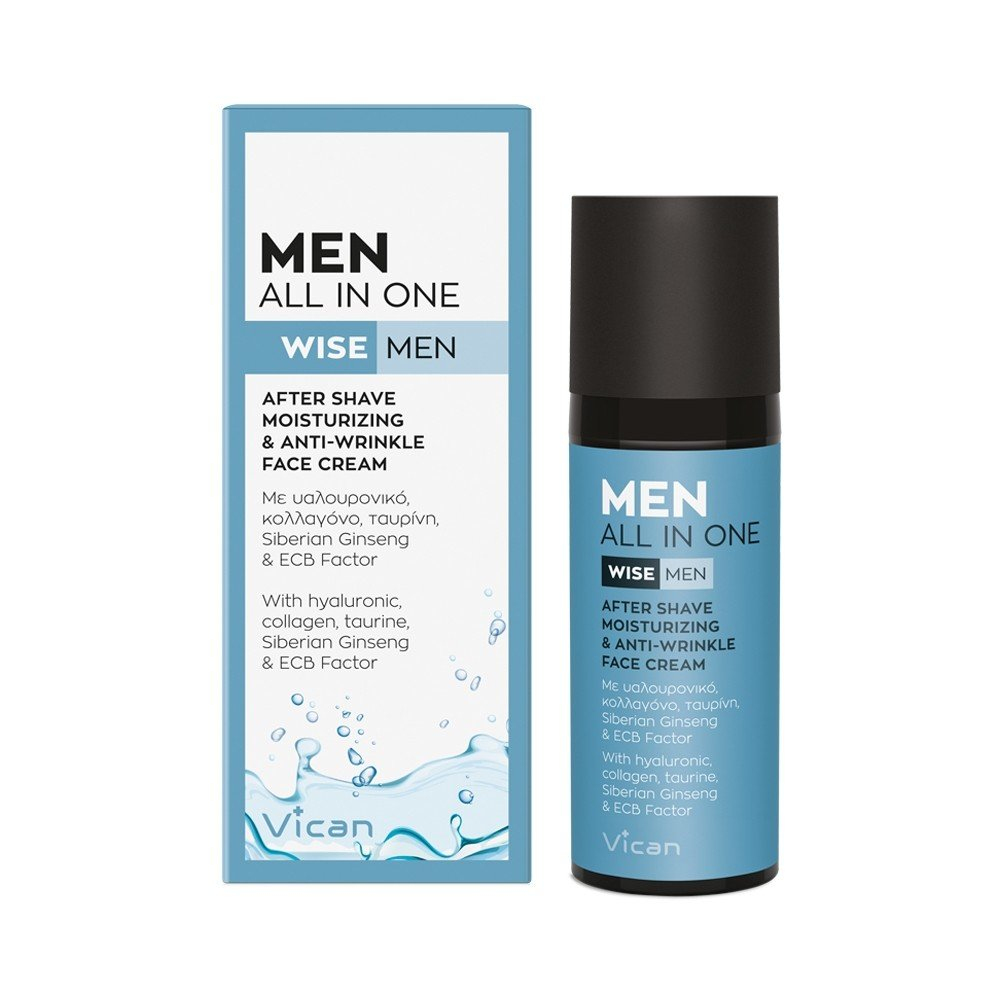 VICAN WISE MEN - MEN ALL IN ONE Cream 50ml