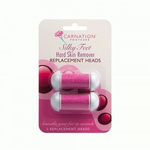 CARNATION SILKY FEET REPLACE HEADS, 2 αντ/κά λίμας ποδιών