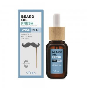 VICAN WISE MEN - BEARD OIL FRESH