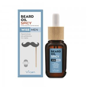 VICAN WISE MEN - BEARD OIL SPICY