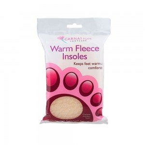 CARNATION WARM FLEECY INSOLES