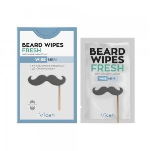 VICAN WISE MEN - BEARD WIPES FRESH